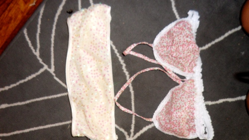 $2 total for both cozy bras