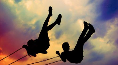 positive thursday swinging through life