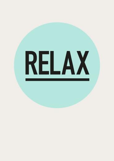 relax September Resolutions