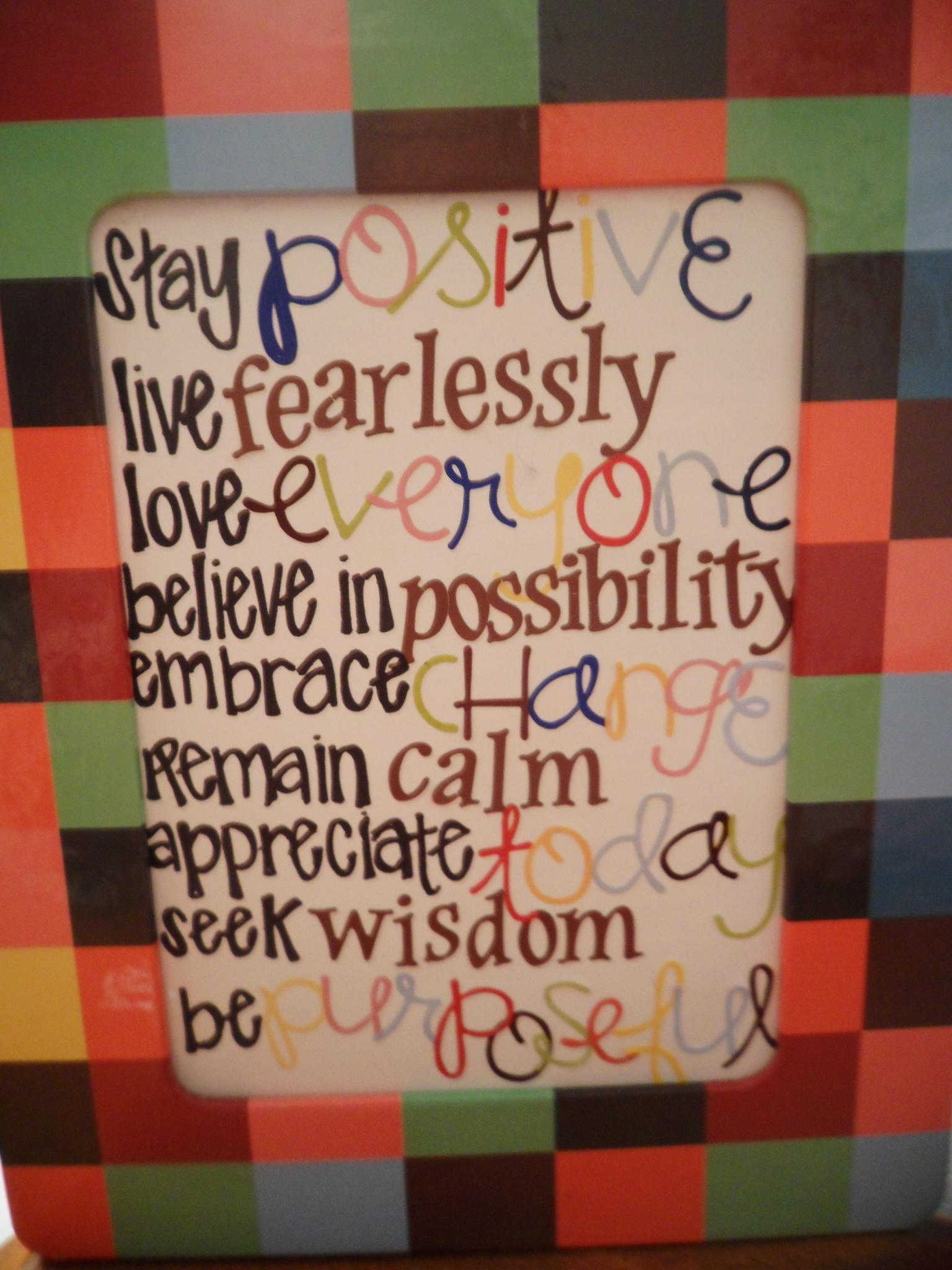 Positive Thursday